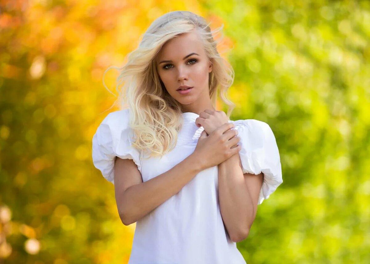 Девушка блондинка даша фото — pic 14