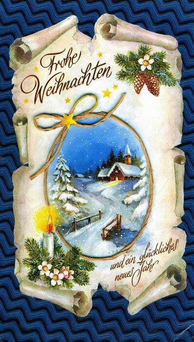 Поздравления и открытки с немецким рождеством, друзей