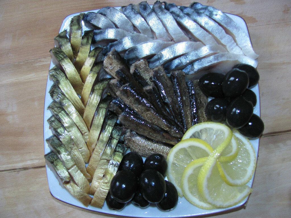 Нарезка рыбы на праздничный стол фото