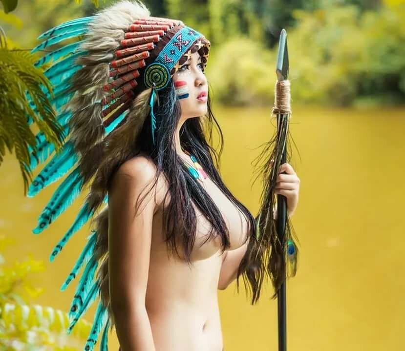 обнаженные индейцы фото - 5