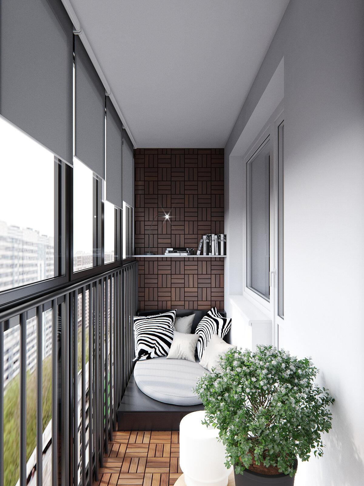 дизайн панорамного балкона фото распространение