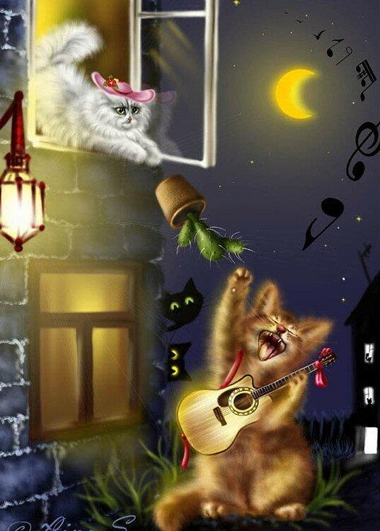 анимационные открытки мартовские коты получения оптимальных результатов