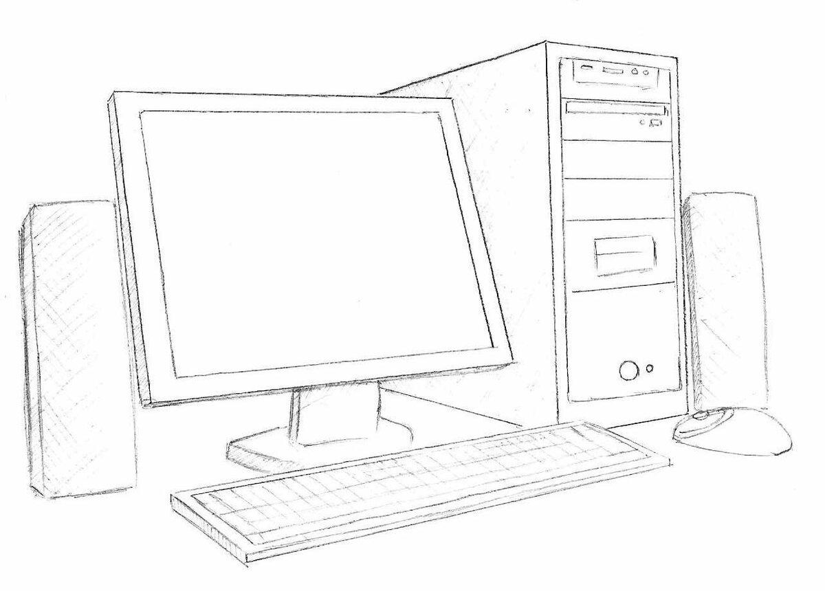 Картинки на информатику рисовать