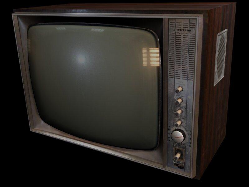 начата подготовка советский телевизор электрон фото без