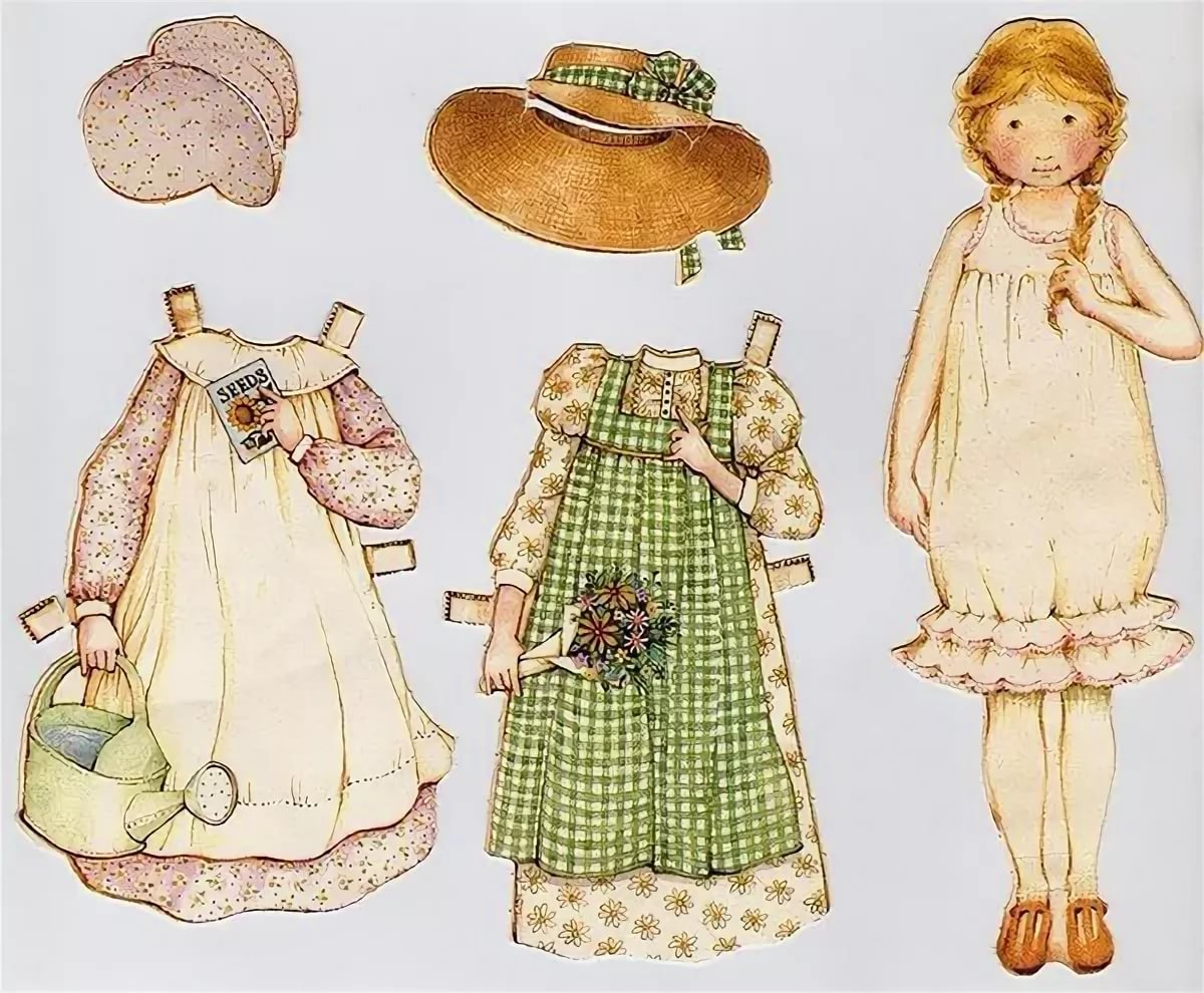 paper doll pattern - HD 1200×990