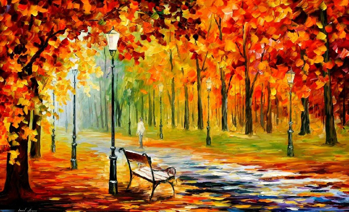 Днем, картинки пейзаж осень для срисовки