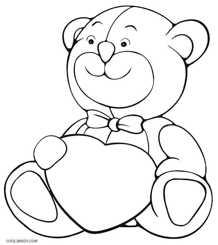 Картинки мишка с сердечком раскраски, телефон