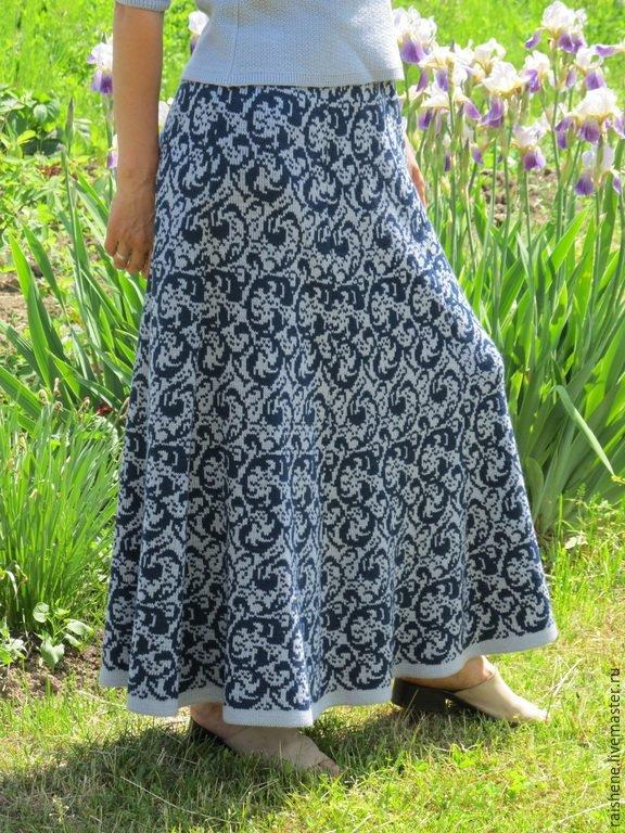 e4f58e1b6c7 ... юбка Зимние узоры 2 - купить в интернет-магазине на Ярмарке Мастеров с  доставкой -. 0. 1