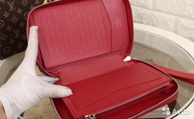 5128c6a6fe13 Женское портмоне Supreme от Louis Vuitton. Кошелек луи витон женский  Розового цвета Подробности..