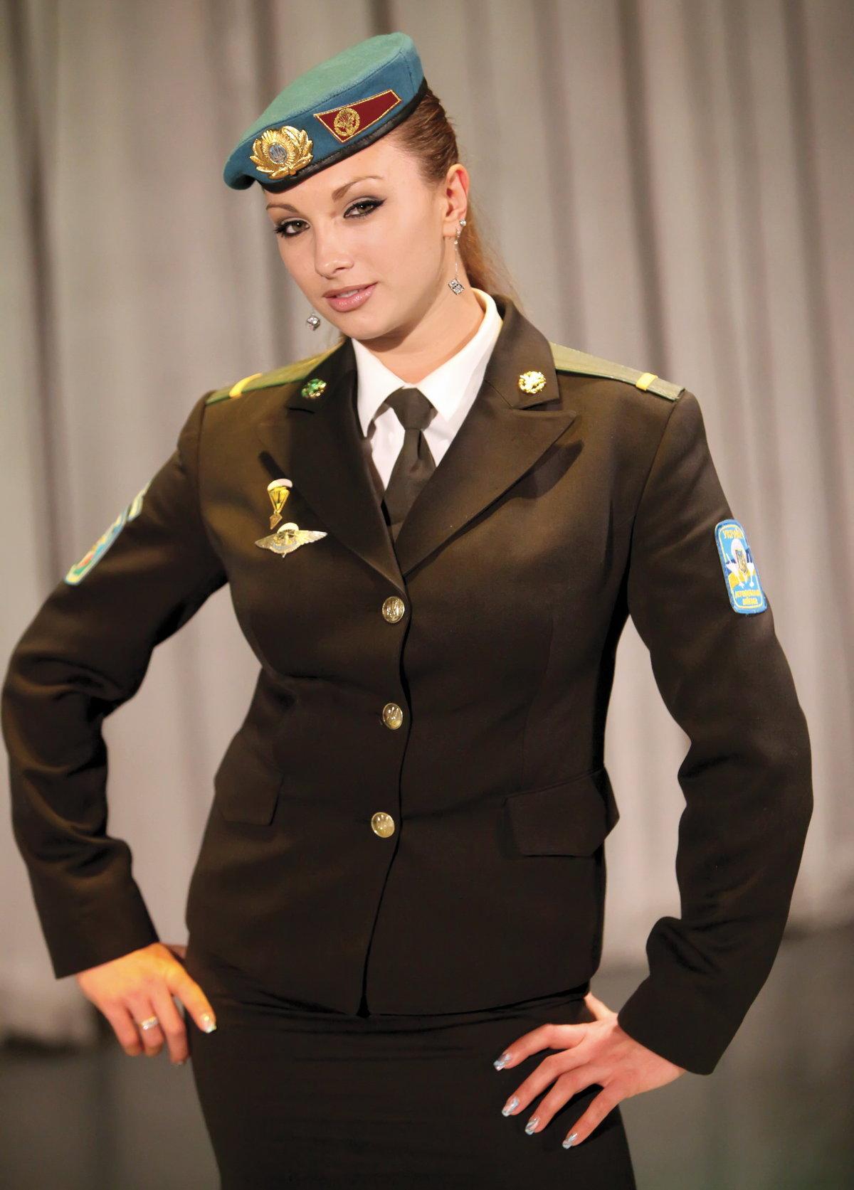 Женская военная форма картинки