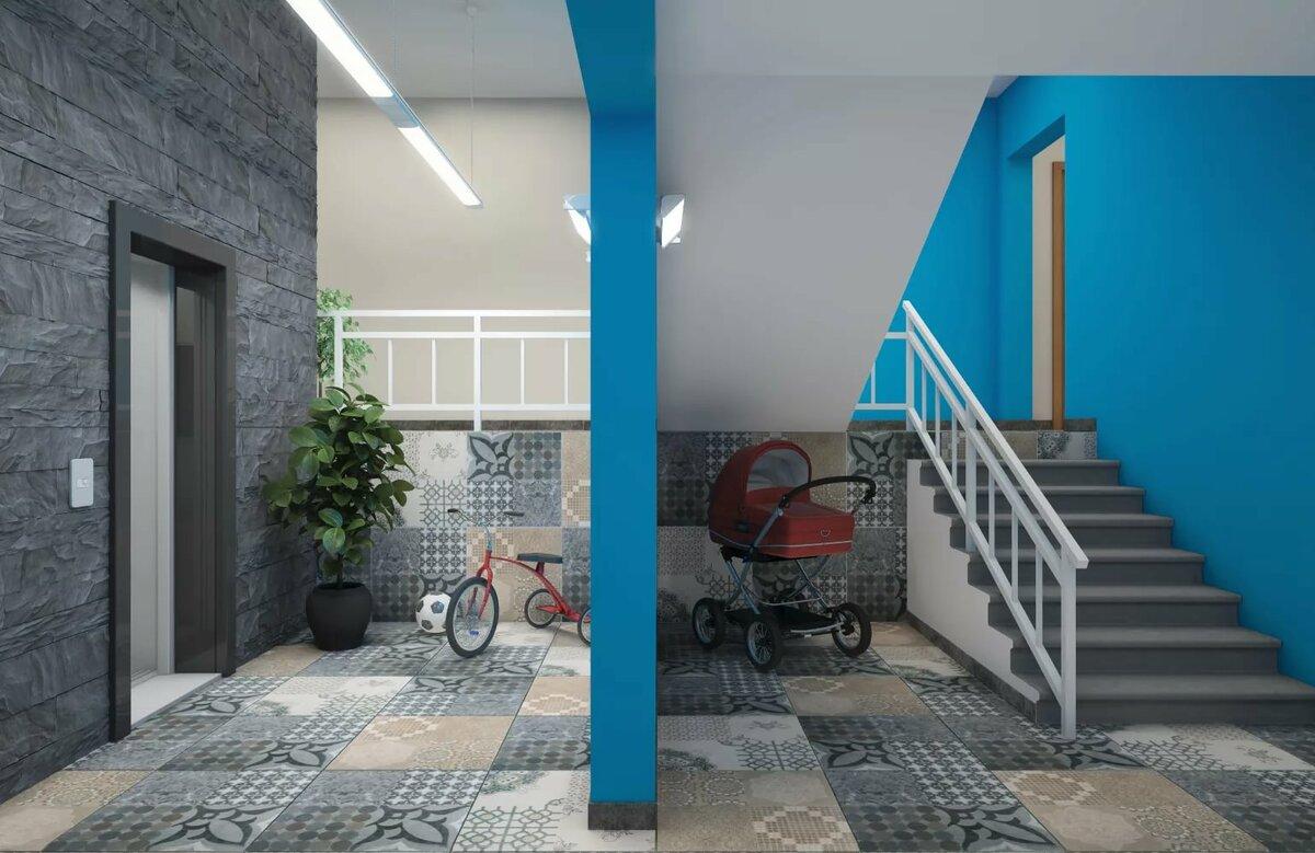 так счастливы дизайн подъезда многоквартирного дома фото деревянных ящиков можно