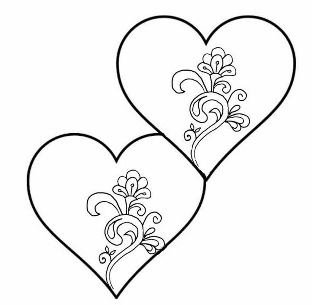оформление валентинок рисунки