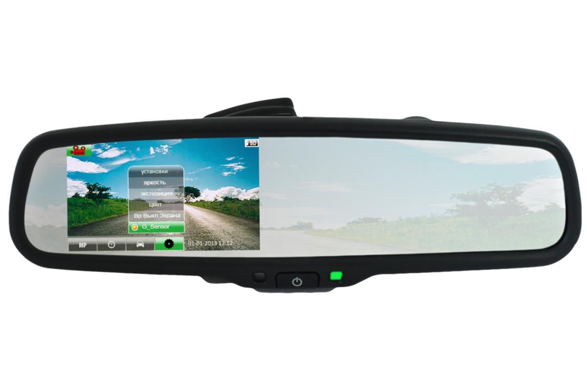 Зеркало-видеорегистратор Car DVRs Mirror в Чите