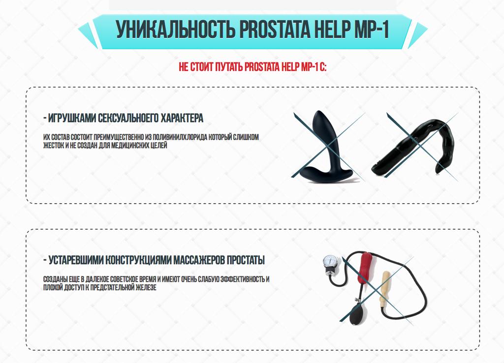 Prostata help MP-1 от простатита