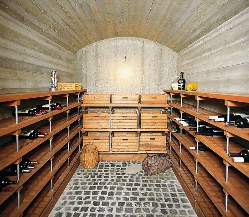 подвал для хранения