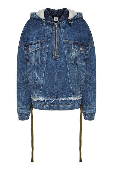 277981684d7 Синяя джинсовая куртка Acne Studios – купить в интернет-магазине в Москве