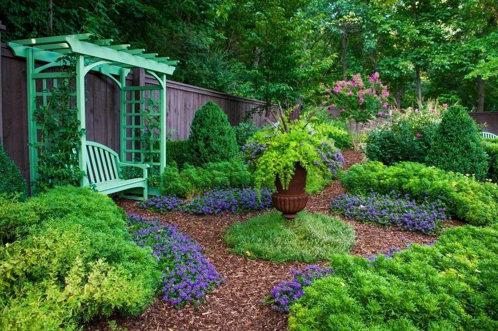 как сделать сад красивым своими руками фото качестве хлеба сметаной