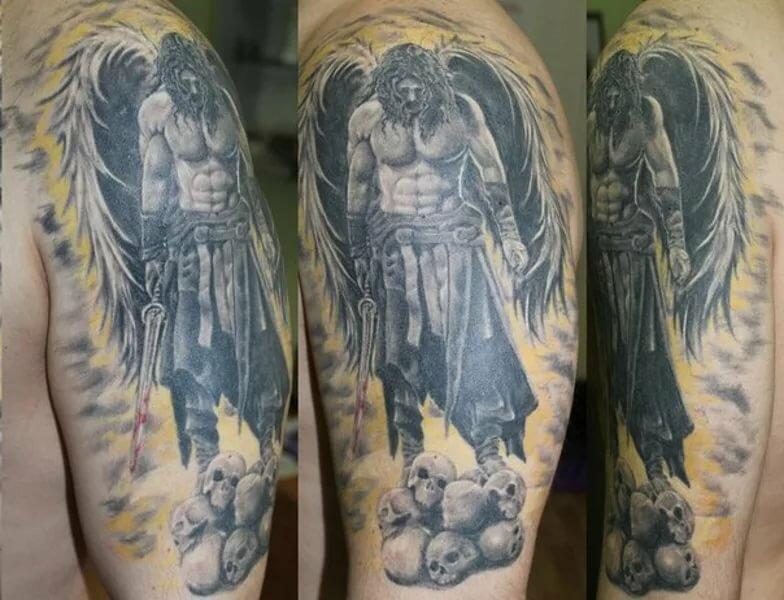 также архангел тату фото картинки этой статье поговорим