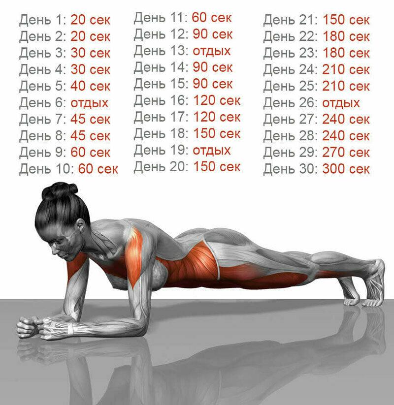 Упражнение Для Похудения Пресса. Топ-50 упражнений для мышц живота: похудейте и подтяните пресс