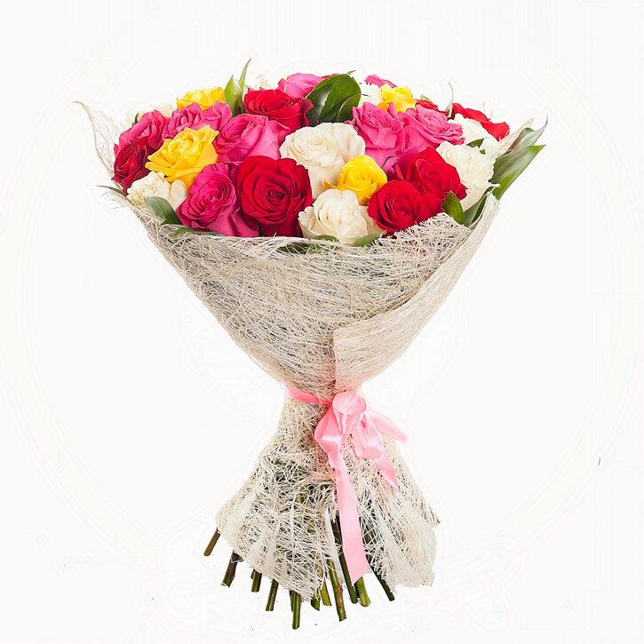 Букет из 800 штук роз