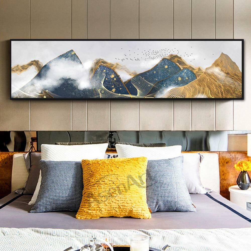 Абстрактные постеры для спальни