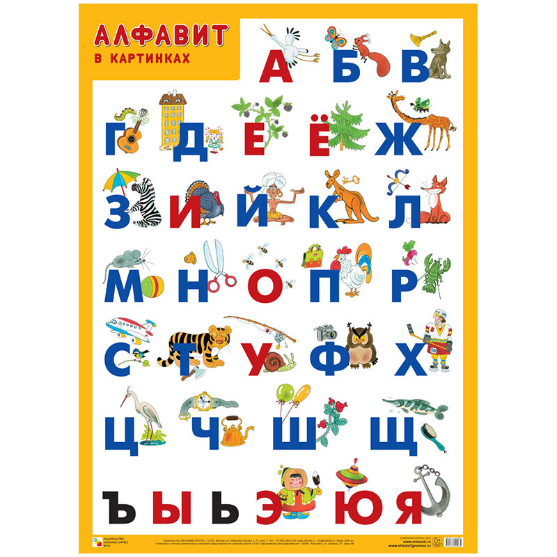 раз азбуки в картинках организациях