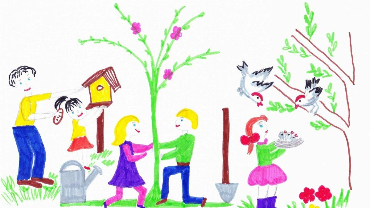 Цветов поздравлением, рисунок на тему добрые дела 2 класс