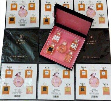 Набор парфюма Chanel из 5 ароматов в Сусумане. Духи Шанель номер 5 ... 01c9ad068a6