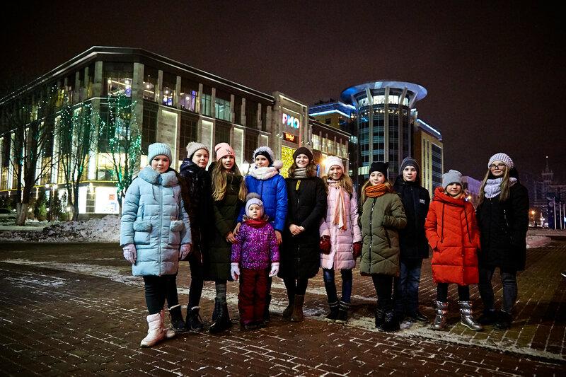 Танцевальный клуб «Дуэт» в городе Саранске. Декабрь, 2018