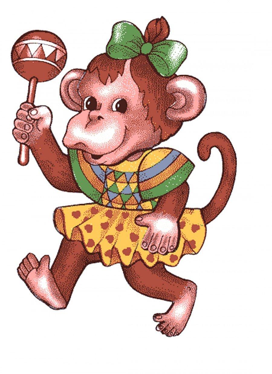 Картинки обезьяны смешные с нарисованные, картинки анимация привет