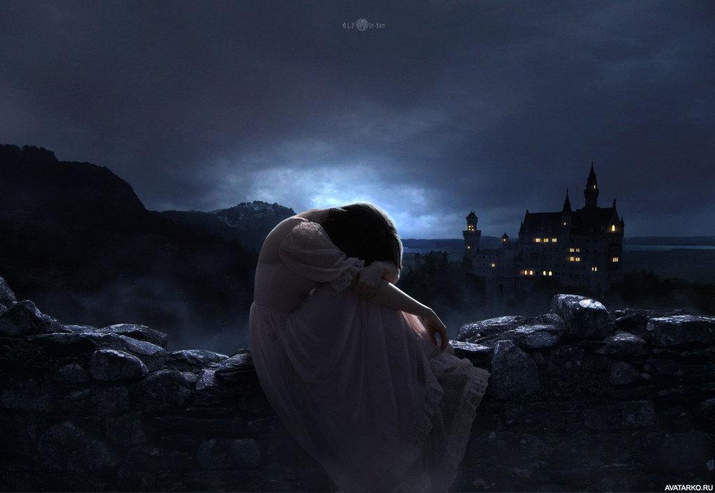 вышеперечисленных грустные ночные картинки стали