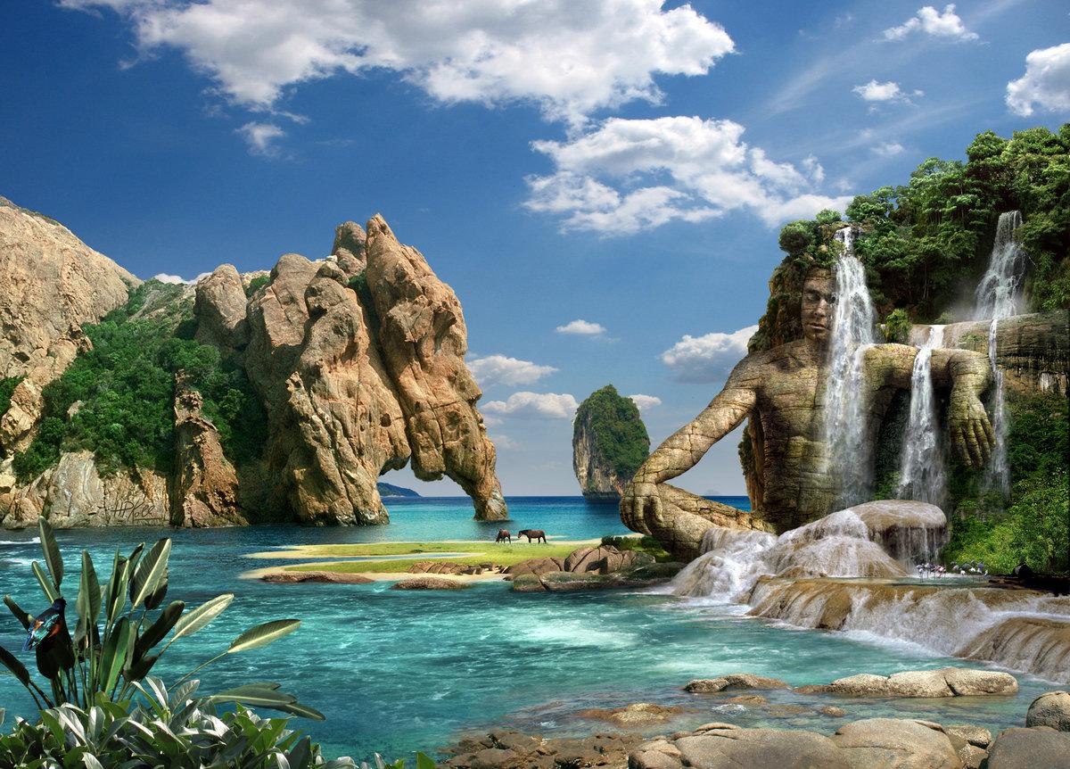Анимации, картинки природа красивая море