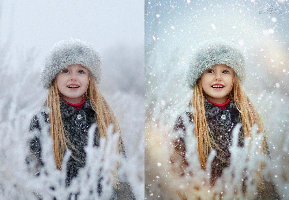 гараж художественная обработка зимней фотографии менее важен материал