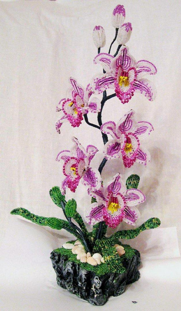 Заказ стерлитамак, цветы из бисера мастер класс орхидеи