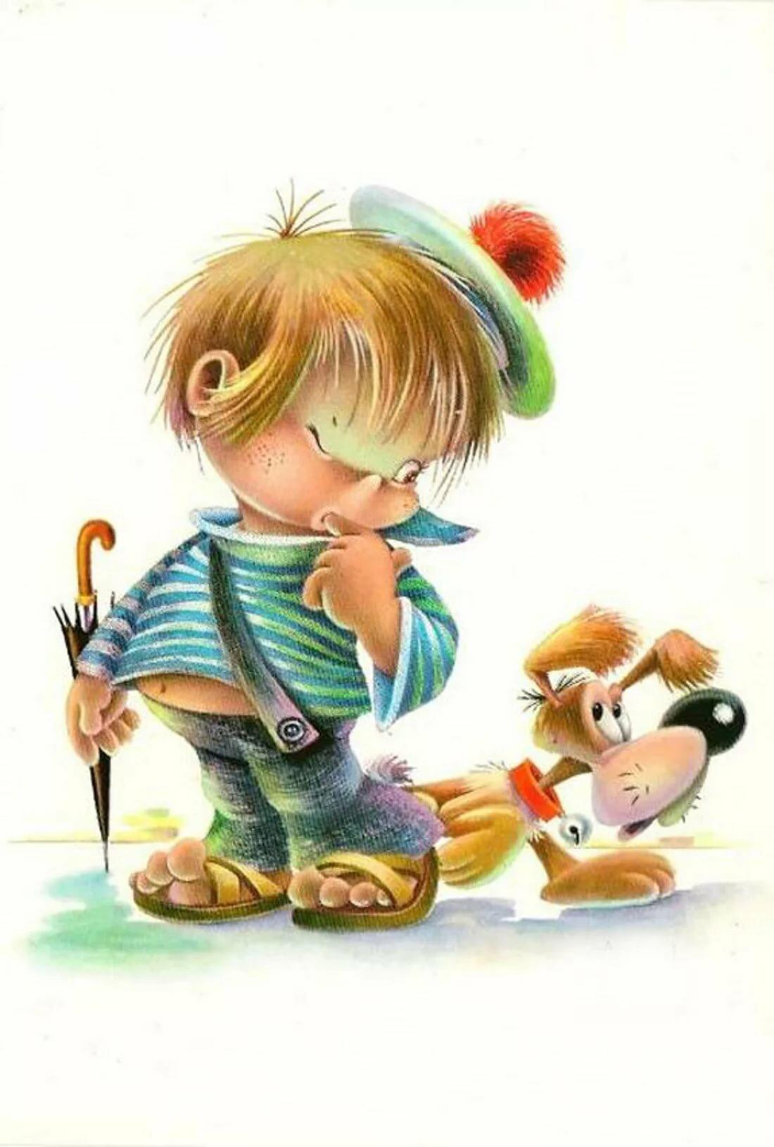 Рисунки семье, открытка веселые дети
