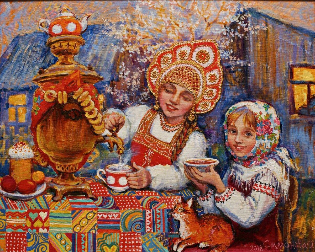 картинки на тему русские народные традиции классической