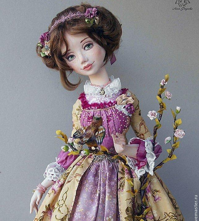 Авторские куклы Анны Фадеевой (rifania-dolls)