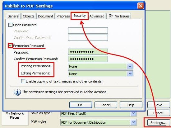 How to protect pdf file from copying and printing online
