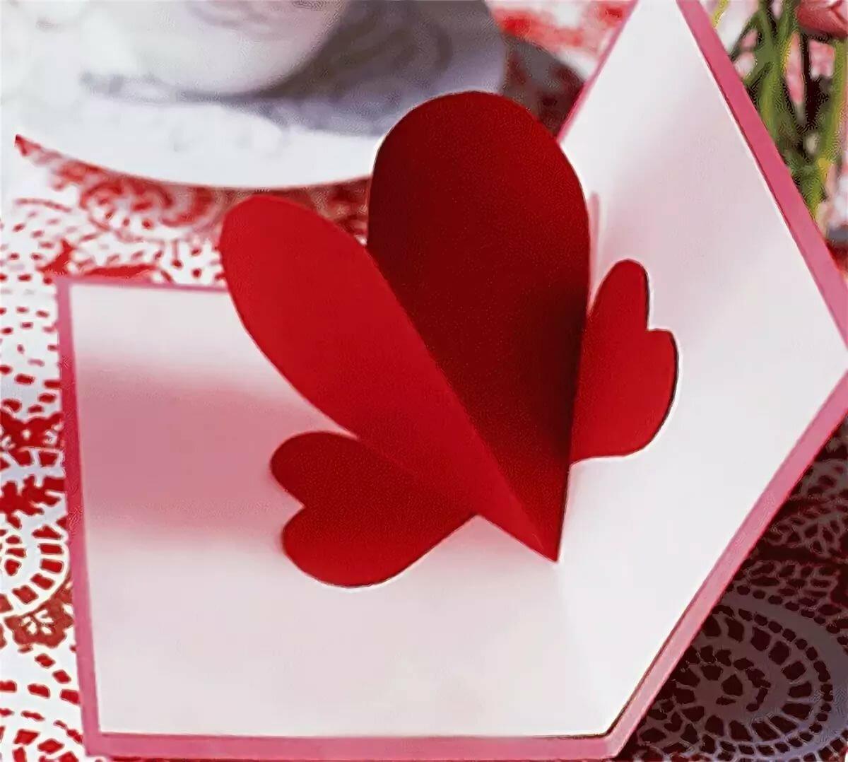 Как сделать валентинку открытки своими руками