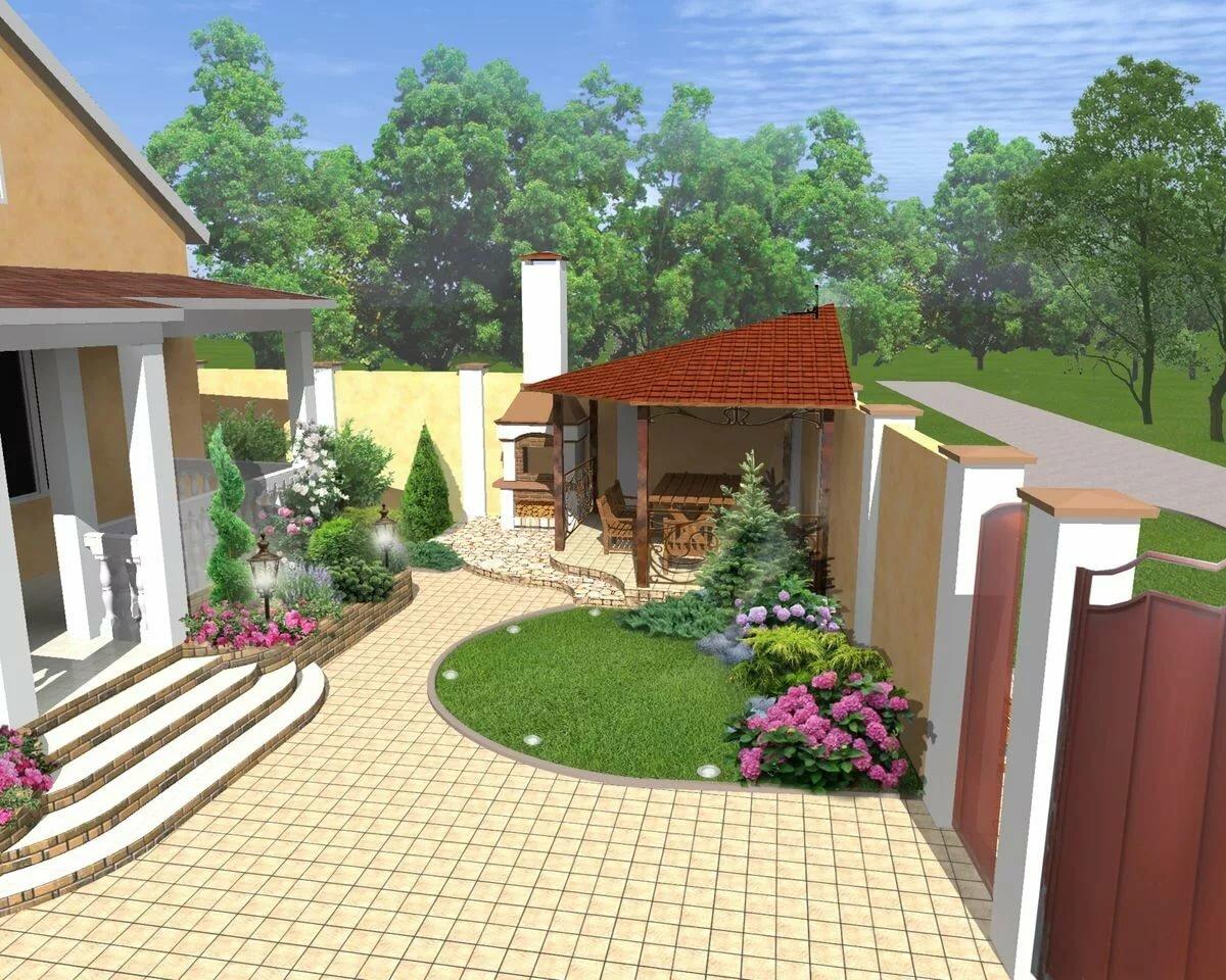 фото дизайна частного двора фильм