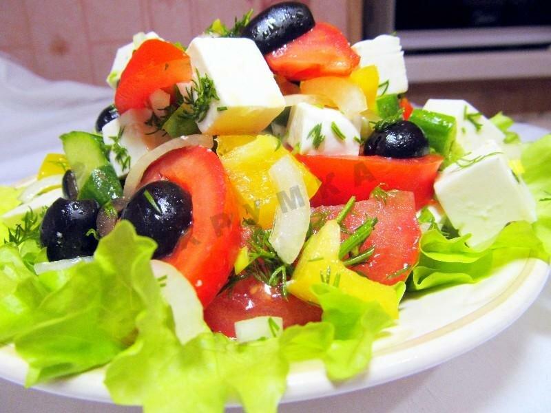 вообще морда рецепт салата греческий классический с фото уики