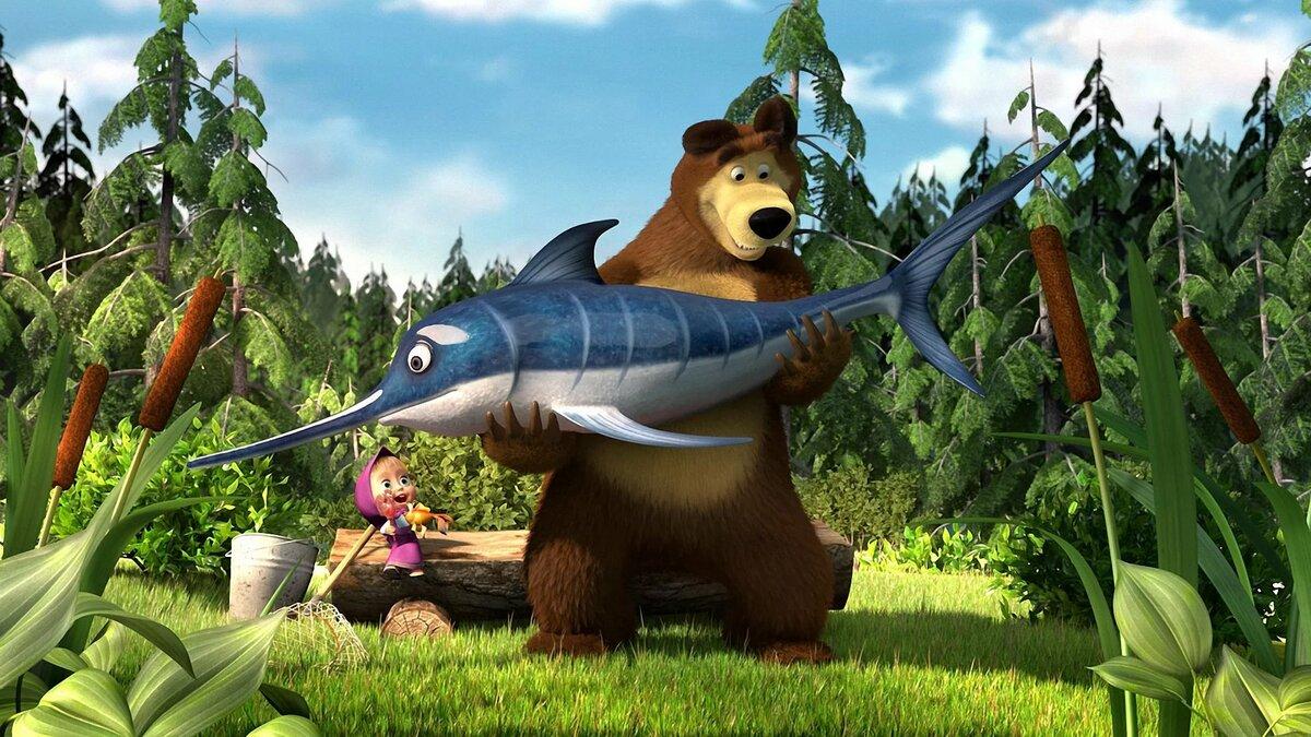 Монстры картинки из маша и медведь