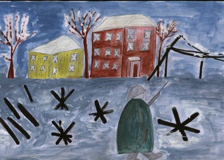 Лучший, открытки блокада ленинграда рисовать
