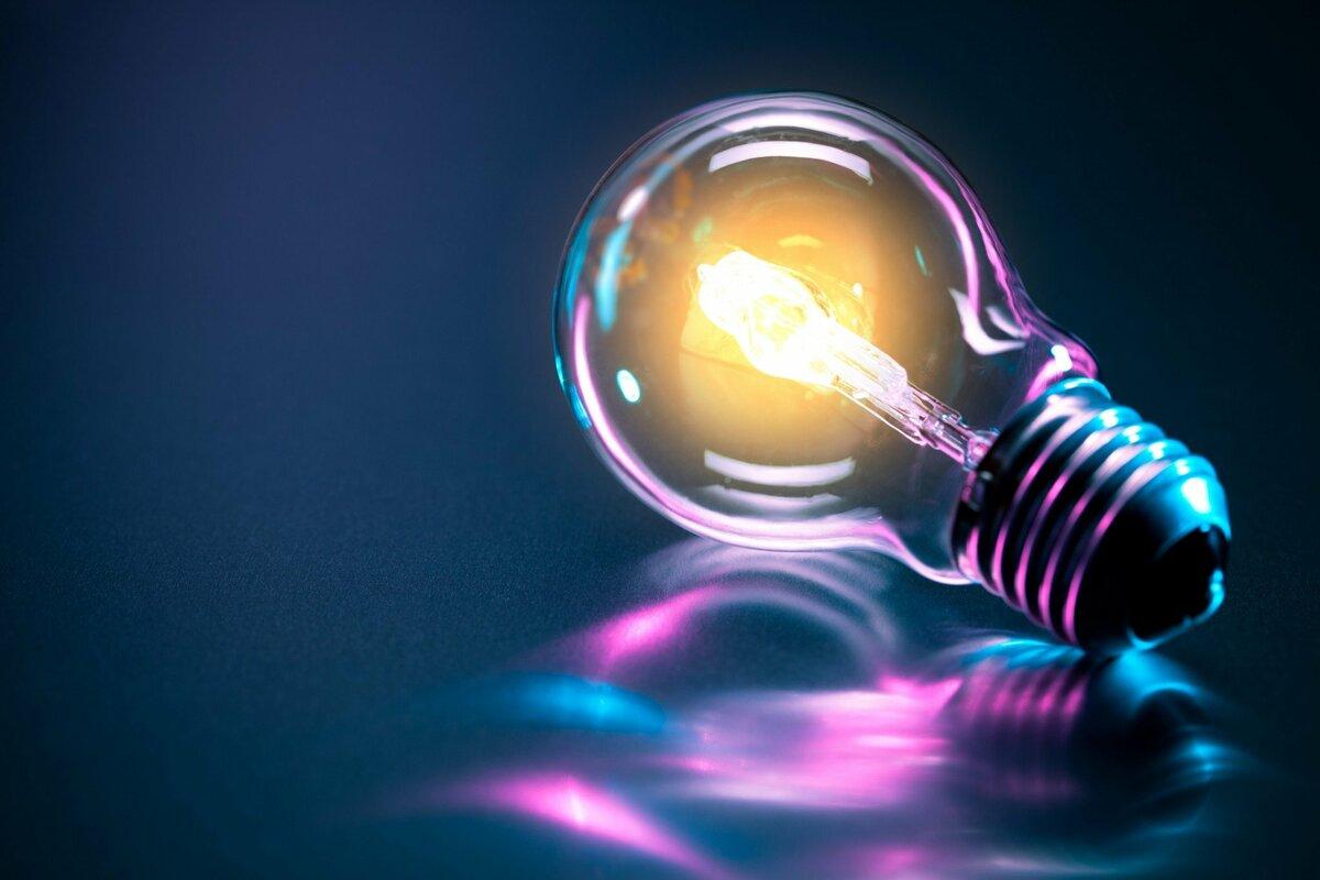Блестящие  фото Электричество