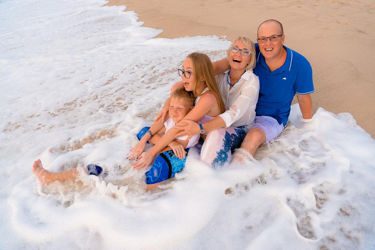 прикольные фото семьи на море элитные