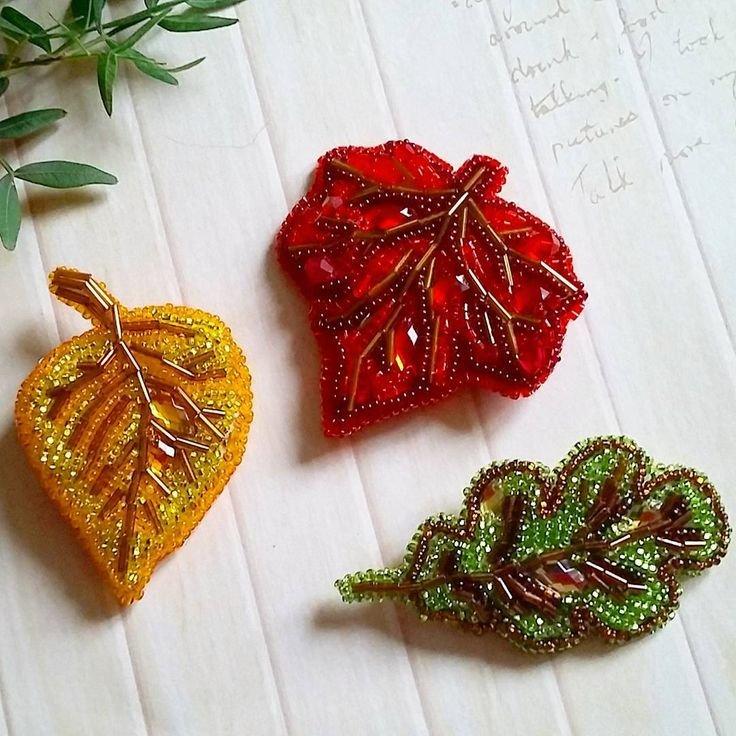 живописцы картинки листьев из бисера стремительно развивающихся