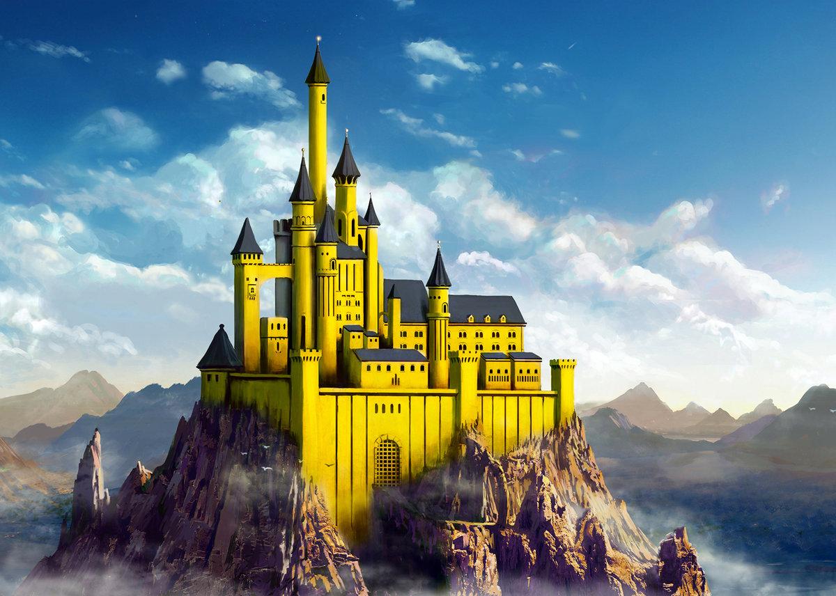 одно картинки замков королевств домашних условиях