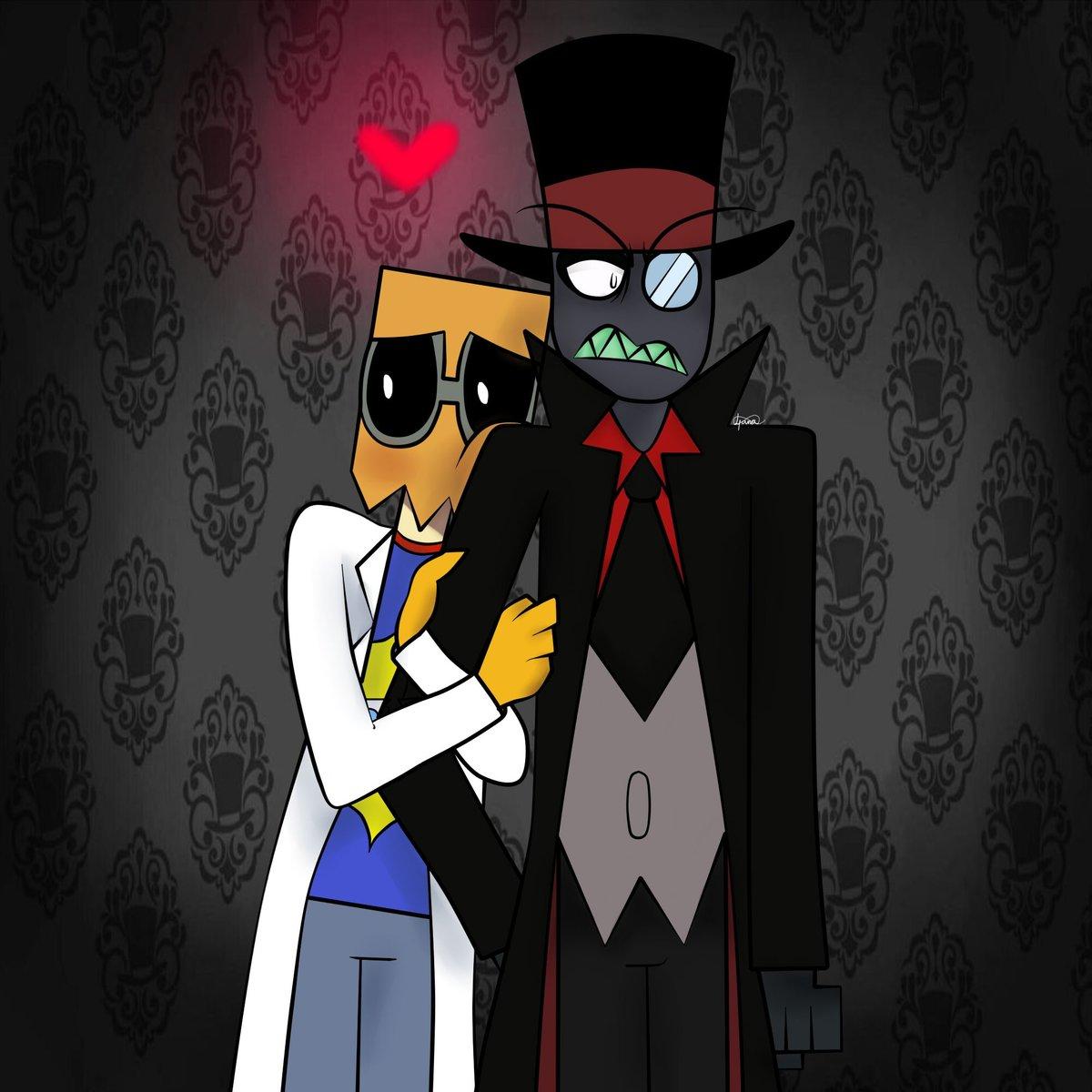 Dr Flug Black Hat Villainous Villanos Paperhat Black Hat X Flug Bhxf