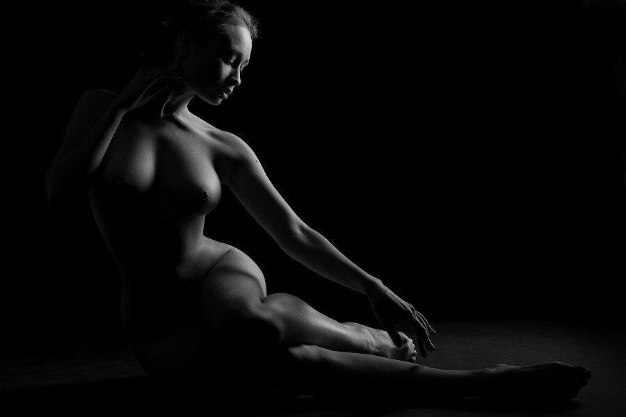 Черно белые картинки эро, анал с самой красивой блондинкой