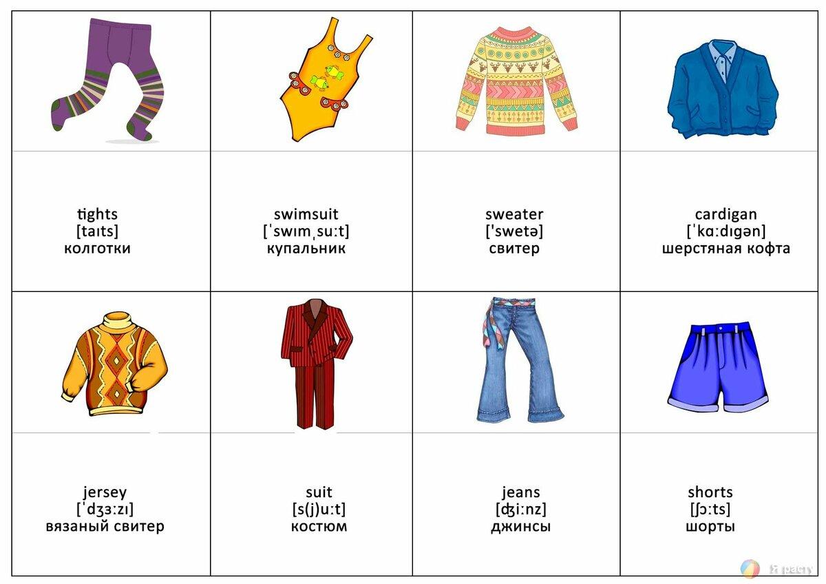 Английские слова с картинками карточки
